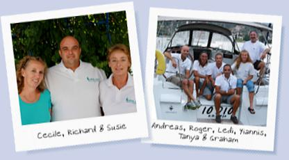 Best wishes from Poros and the Greek Sails team