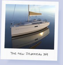 The new Jeanneau 349 3-cabin yacht