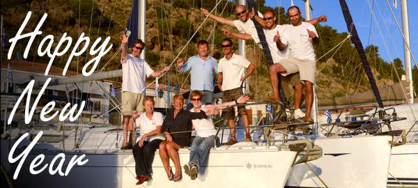 A very happy & properous 2013 from everyone at Greek Sails