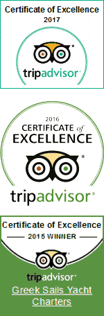 TripAdvisor awards for Excellence, 2015, 2016 & 2017