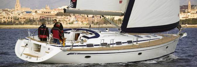 Bavaria 50 Cruiser sailing yacht available from Greek Sails for flotilla & bareboat charter from Poros, Greece. Image courtesey of Bavaria Yachtbau GmbH