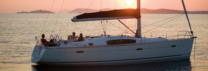 Benetau Oceanis 43 sailing yacht available from Greek Sails for flotilla & bareboat charter from Poros, Greece