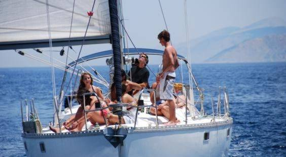 Enjoy a cabin charter sailing holiday; relax and make new friends