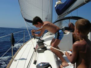 All the family can get involved and enjoy a flotilla holiday around the Greeks islands with Greek Sails