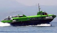 Flying Dolphin hydrofoil operated by Hellanic Seaways on the Athens to Poros route - © Copyright Hellanic Seaways - www.hellenicseaways.gr