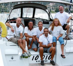 Some of Greek Sails' staff who look forward to welcoming you to Poros and ensuring you enjoy your best sailing holiday - ever!