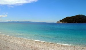 Discover beautiful deserted beaches as you explore the Greeks islands on a bareboat yacht charter with Greek Sails