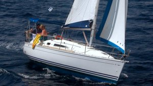 A Greek Sails Jeanneau Sun Odyssey 29.2 sailing yacht on a flotilla sailing holiday
