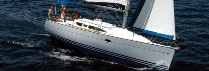 Jeanneau Sun Odyssey 32 sailing yacht available from Greek Sails for flotilla & bareboat charter from Poros, Greece