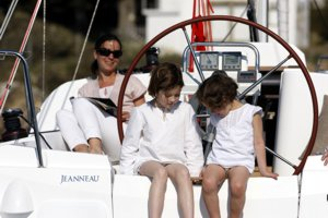 A family holiday aboard a Greek Sails yacht is a great experience for children who often make new friends during flotilla sailing holidays