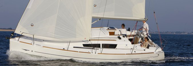 Jeanneau Sun Odyssey 33i sailing yacht available from Greek Sails for flotilla & bareboat charter from Poros, Greece