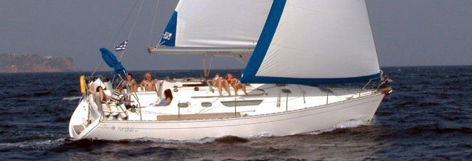 Jeanneau Sun Odyssey 36.2 sailing yacht available from Greek Sails for flotilla & bareboat charter from Poros, Greece
