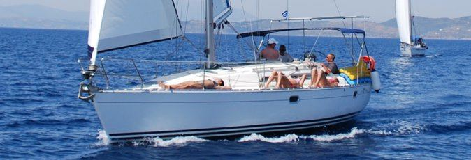 Jeanneau Sun Odyssey 37.1 sailing yacht available from Greek Sails for flotilla & bareboat charter from Poros, Greece