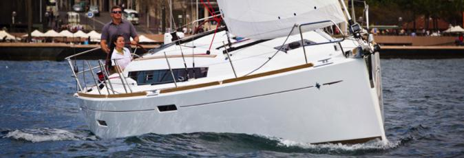 Jeanneau Sun Odyssey 389 sailing yacht available from Greek Sails for flotilla & bareboat charter from Poros, Greece. Image courtesey & with permission of Chantiers Jeanneau S.A.