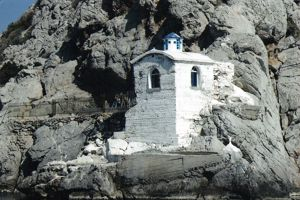 The Krasopanagia church, Methana, Peloponnese, Greece