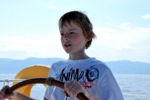 All ages can learn to sail with Greek Sails...although formal qualifications do impose age restrictions