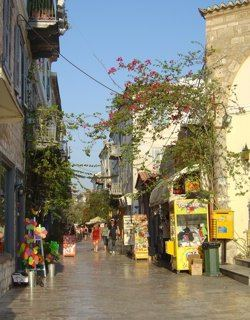 Navplion is a wonderful town of winding steets and open plazas filled with small shops and resturants
