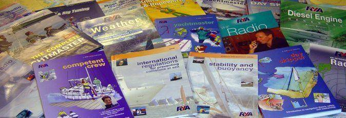 Sail training books & manuals available from Greek Sails & Poros Yachting Academy via Amazon